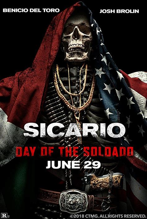 New poster for Sicario: Day of the Soldado