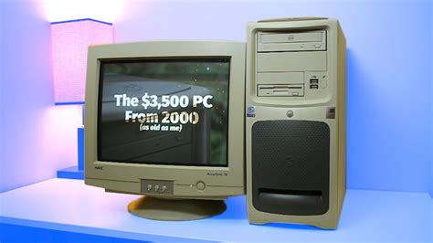 The $3,500 Gaming PC From 2000 - YouTube