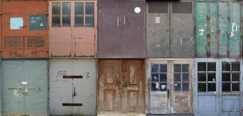 My Sims 4 Blog: Double Front Industrial Doors by ScandiForest