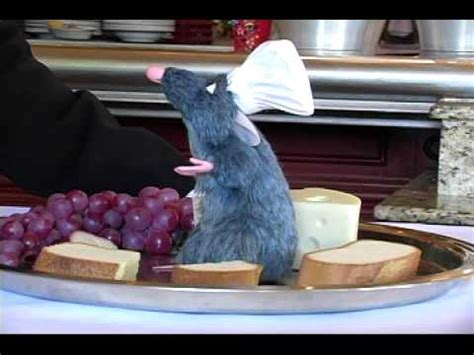 Chef Remy at WDW Les Chefs de France Restaurant - YouTube