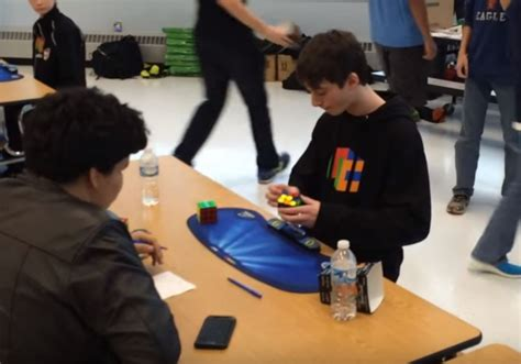 Fastest time to solve a 3x3 Rubik's Cube Lucas Etter
