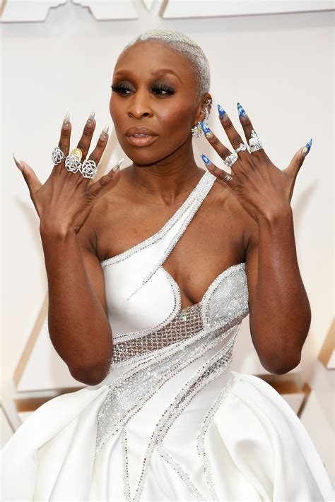 The Special Meaning Behind Cynthia Erivo's Nail Art at the