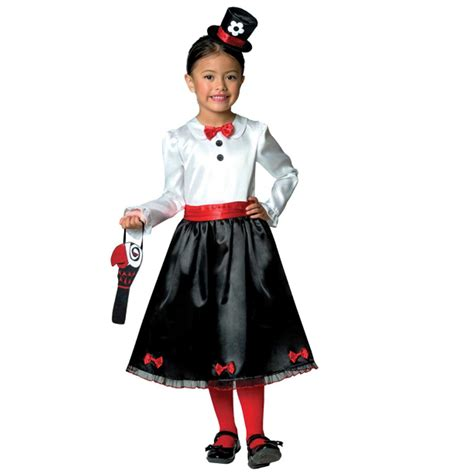 Girls Victorian Nanny Poppins Book Week Mary Kids Parrot