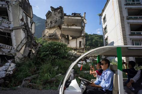 After-Shocks of the 2008 Sichuan Earthquake | by Ian