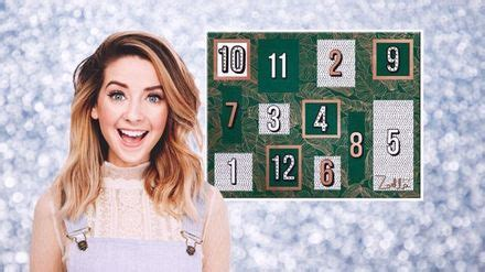 Zoella Sells Overpriced Advent Calendar, Because She Is A