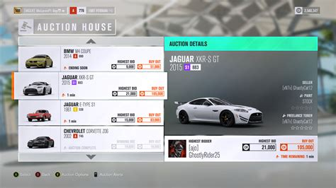 Auction House   Forza Motorsport Wiki   FANDOM powered by