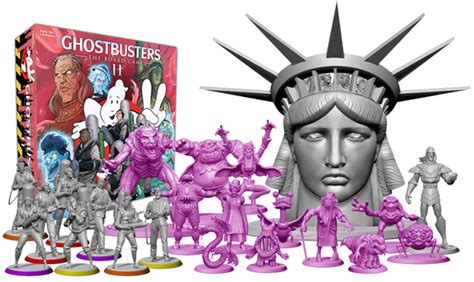 Ghostbusters the Board Game II Funded on Kickstarter | The