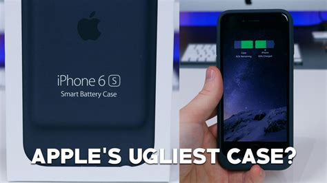 Hands-on with the ugly Apple iPhone 6s Smart Battery Case