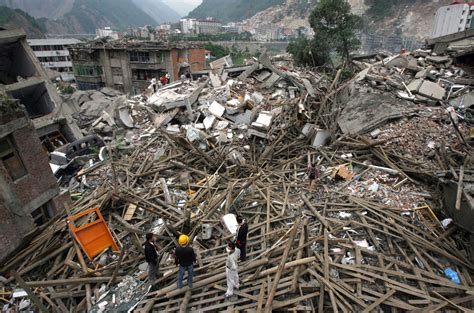 Earthquake Damage in Beichuan County - Photos - The Big