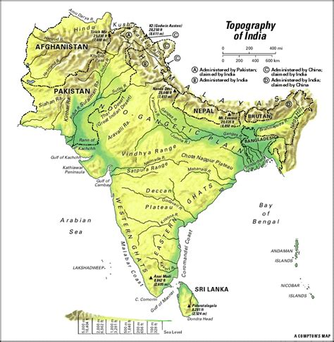 South Asia: topography - Students   Britannica Kids