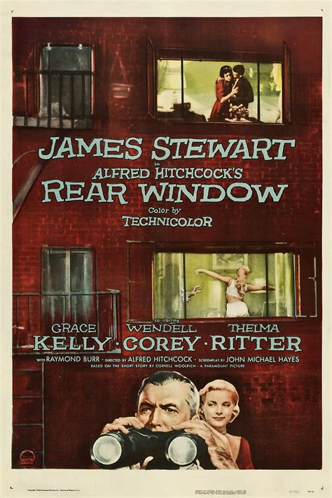 Rear Window   The Hitchcock Report