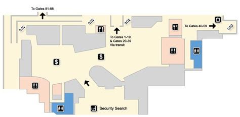 Stansted Terminal Maps - Stansted Airport Guide, UK