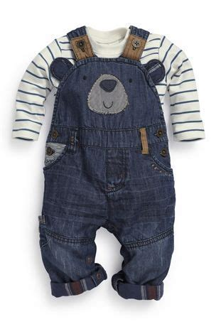 Buy Bear Denim Dungarees (0-18mths) from the Next UK