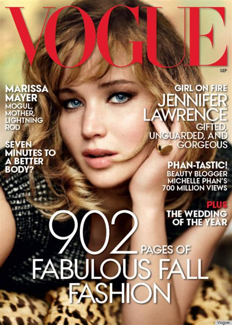 Jennifer Lawrence's Vogue Cover Is Here! (PHOTOS) | HuffPost