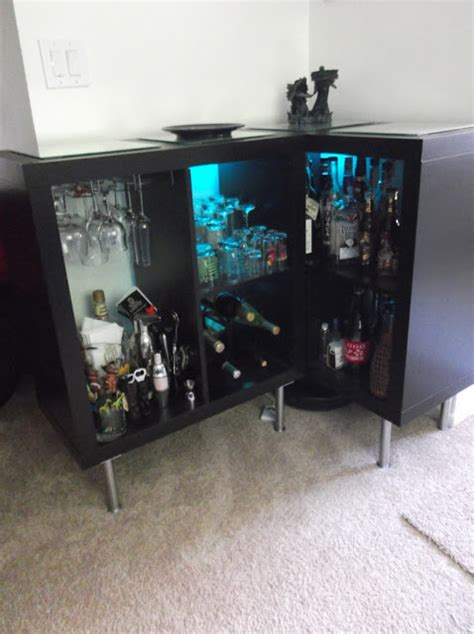 Yup, another Expedit Bar - IKEA Hackers - IKEA Hackers