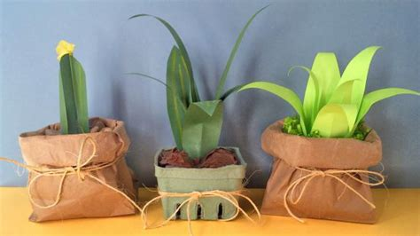 How to Make Paper Plants (Easy) - Inner Child Fun