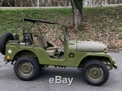 Willys Jeep M38 A1, Willys Jeep Mb Jeepverdeck Ford Gpw