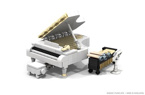 [AnsMoc Studio] The Grand Piano - Special LEGO Themes