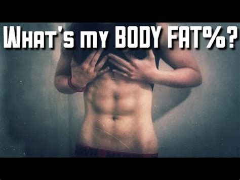 What's my body fat percentage? 3 point caliper test - YouTube